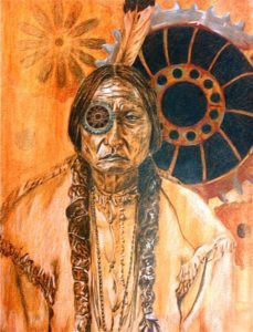"Sitting Bull: ""Money is soon gone. Land is forever."""