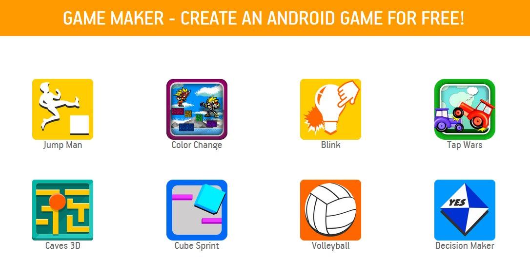 Image result for appsgeyser game maker