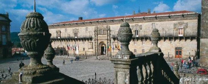 Hostal de los Reyes Católicos, en Santiago de Compostela. / spain.info