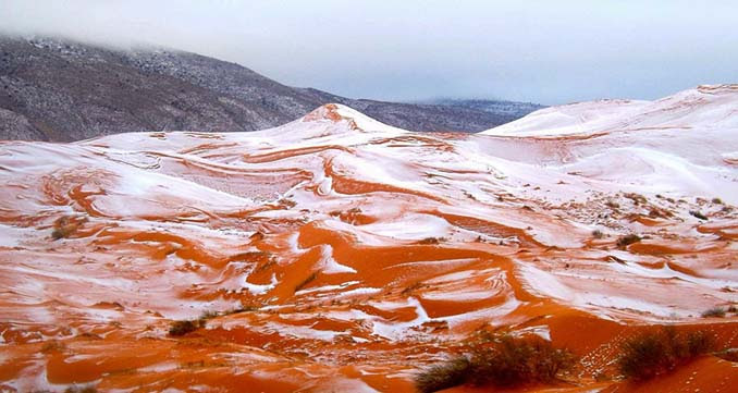 Χιόνισε στη Σαχάρα (5)