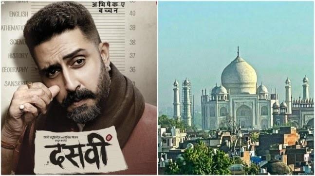 Abhishek Bachchan wraps up Dasvi schedule in Agra, jokes Bunty didn't try and sell Taj https://ift.tt/31PcbGt