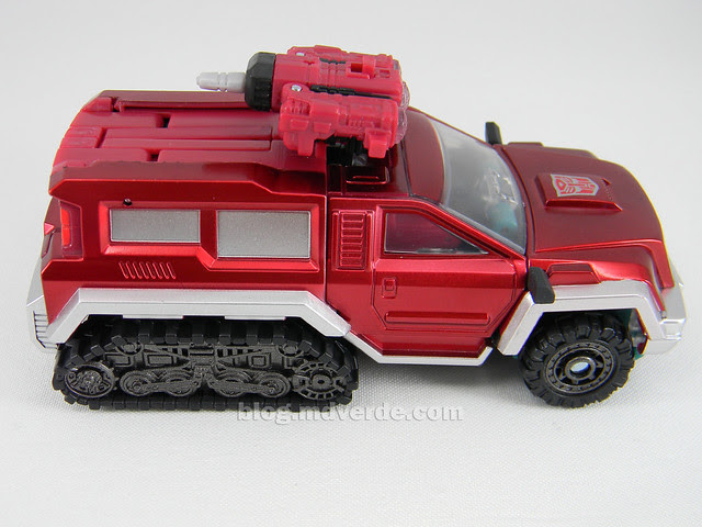 Transformers Perceptor United Deluxe - modo alterno