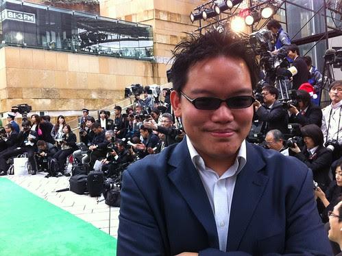 Me at the Green Carpet