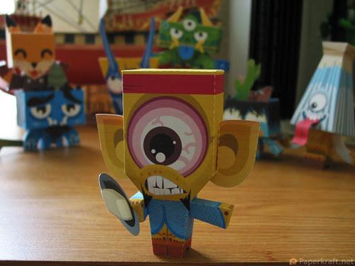 Japanese Monster Papercrafts - Hitotsume kozo