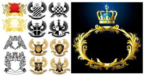 European Royal Pattern Vector Graphic  Graphic Hive