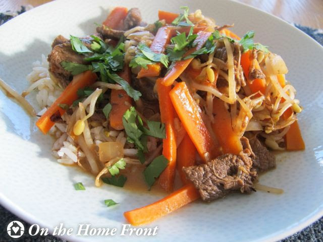 Thai Coconut Beef Stir-Fry