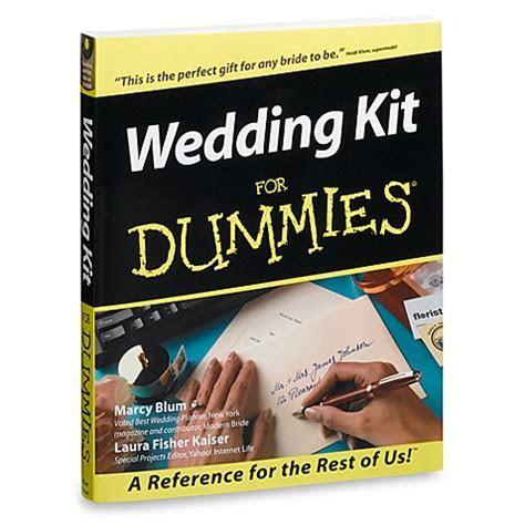 Wedding Kit for Dummies®   Bed Bath & Beyond