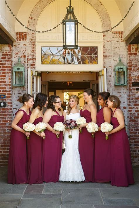 Gold And Wine Red Wedding Decorations