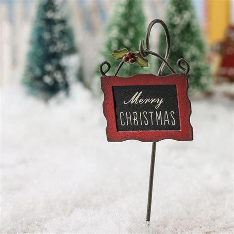 "Miniature ""Merry Christmas"" Sign   Christmas Miniatures"