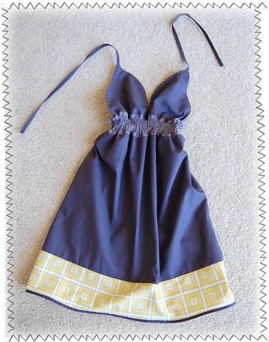 I made this dress