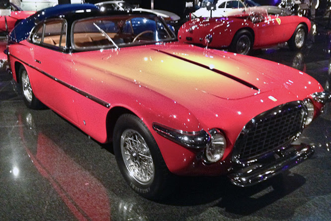 Ferrari 212 Inter Vignale, Danville Concours d'Elegance
