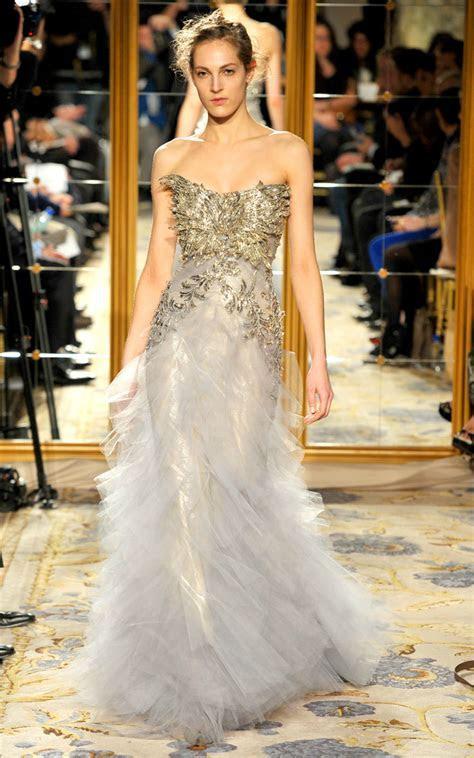 Fall 2012 wedding dress inspiration Marchesa RTW modified