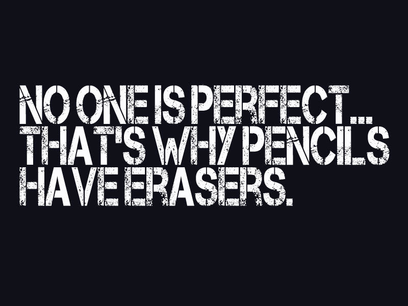 Quote About Perfection Awesome Quotes About Life