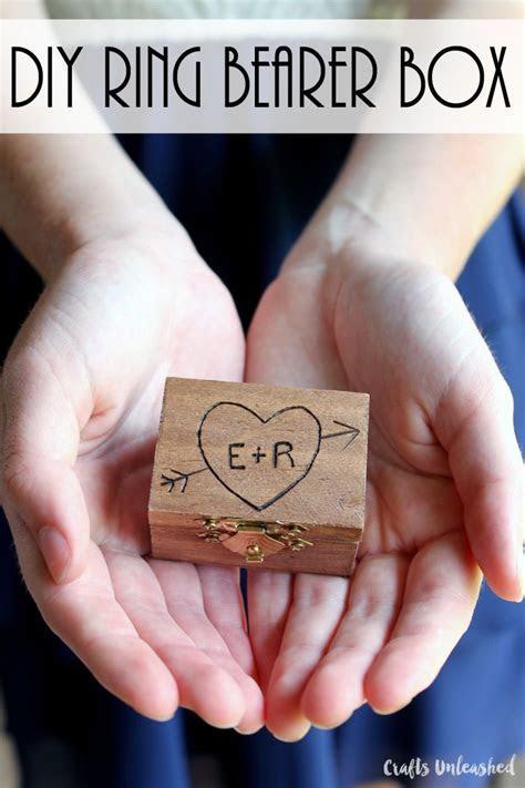 DIY Ring Bearer Box: Wood Burned Keepsake   Consumer
