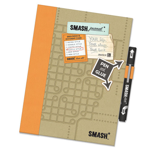 K and Company - SMASH Collection - Journal Book - Simple Orange Folio
