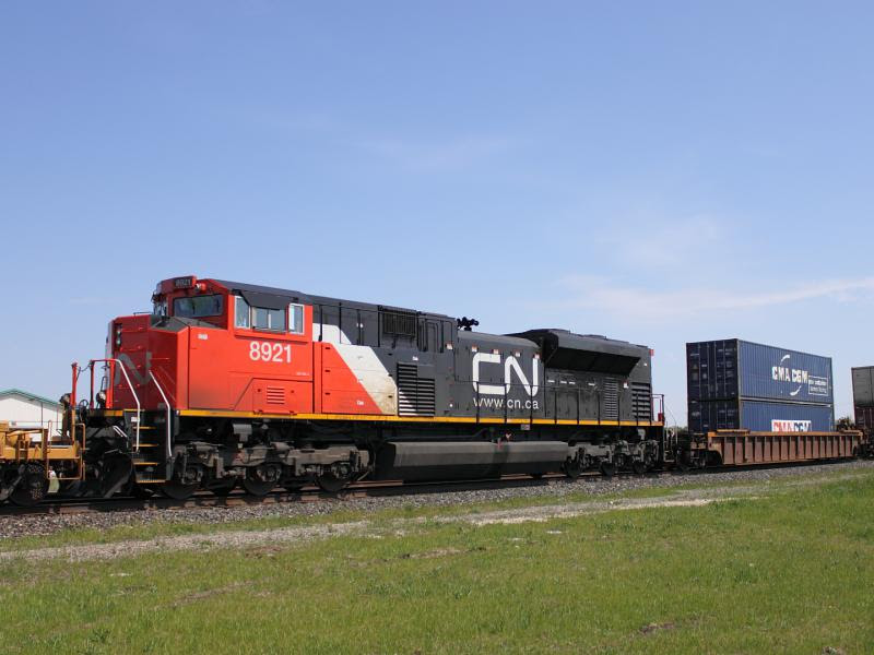 CN 8921 in Winnipeg