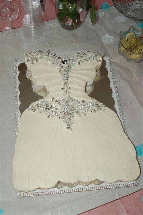 Cupcake Wedding Dress Cake   Cupcake cake sheet ideas