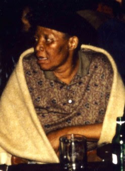 Mary Thobei in 1993. Photo Denis Martin