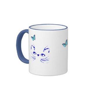 Persian Kitty Daydreams Mug