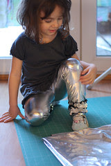 shinny leggings