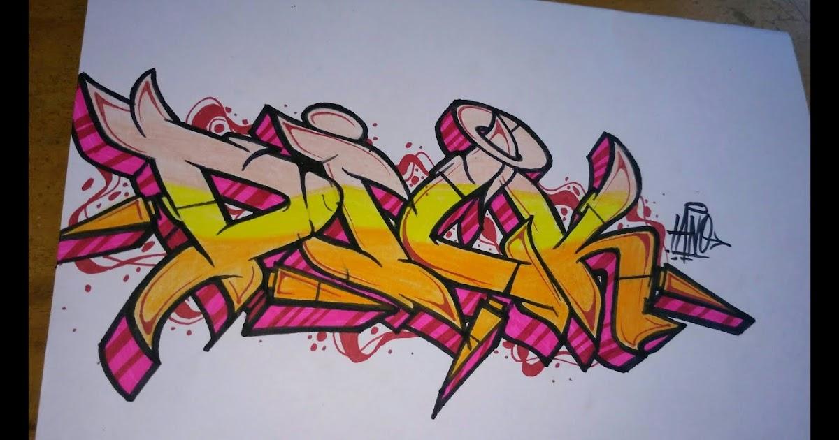 610 Foto Grafiti Tulisan Dicky Untuk Di Tiru