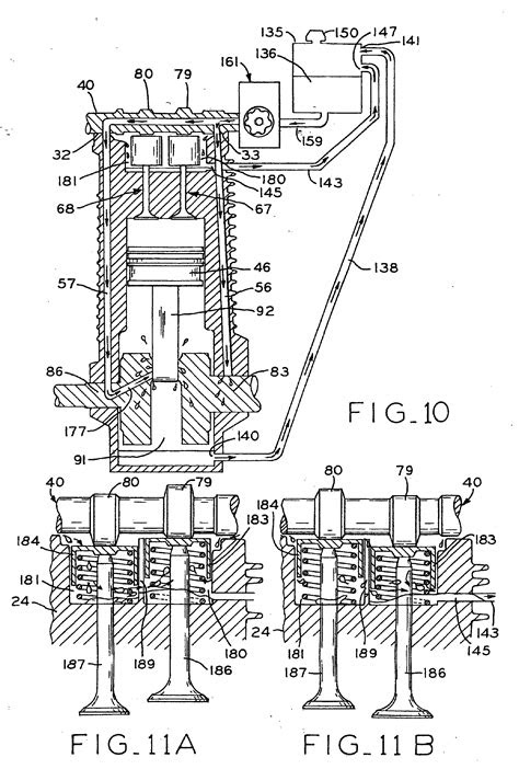 Patent EP1471229A1 - Overhead cam engine with dry sump