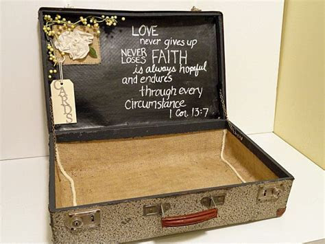 Best 25  Wedding card suitcase ideas on Pinterest   Card