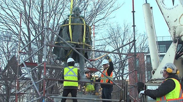 Image result for cornwallis statue removed