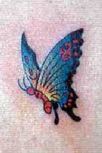 Butterfly Tattoos Free Tattoo Flash And Template Of Butterflies