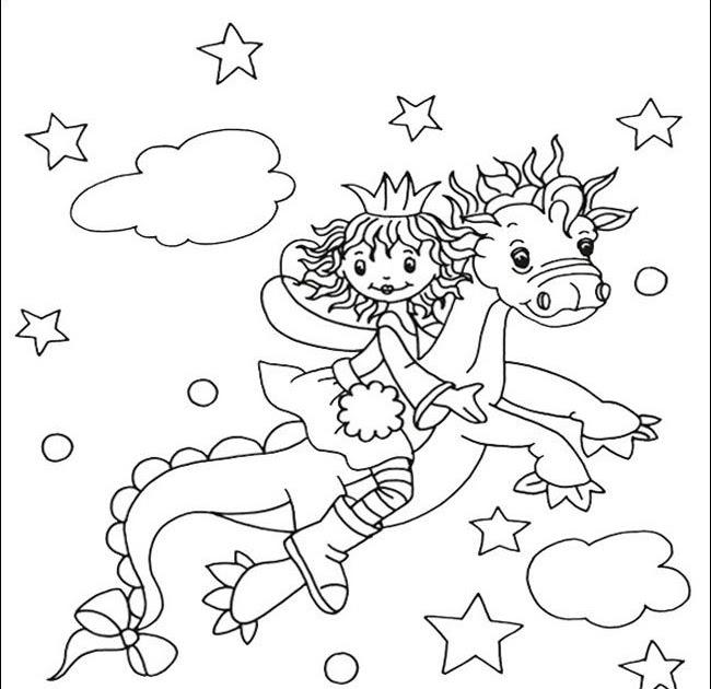 ausmalbild conni pferd  catherine miller grundschule