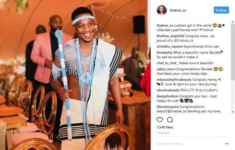 Pics! Inside Singer Thabsie's Traditional Wedding   OkMzansi