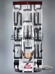 Studio27: Maqueta de coche escala 1/24 - Porsche 919 Hybrid Nº 20 - 24 Horas de Le Mans 2014 - kit multimaterial