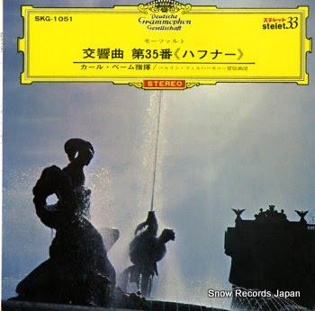 BOHM, KORL mozart; symphony no.35 in d major, k.385 haffner-symphony