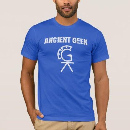 Ancient Geek Puzzle T-Shirt