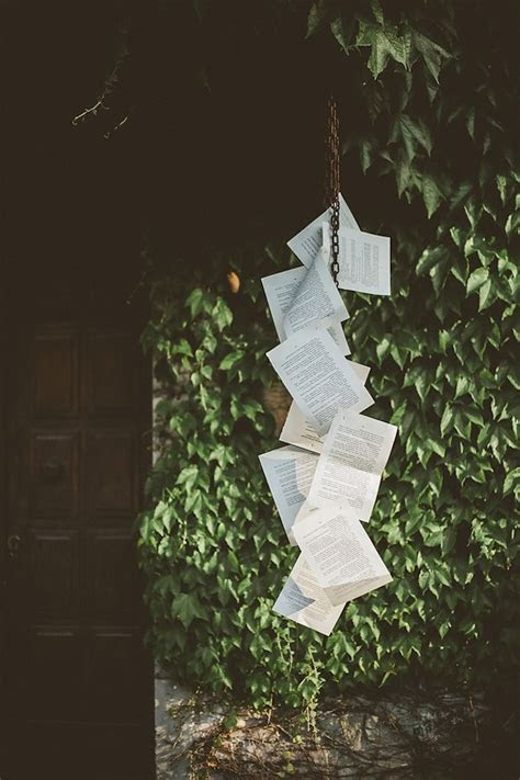 A Quirky, Book Themed Italian Wedding
