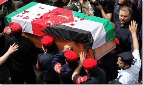 I funerali di Arrigoni a Gaza