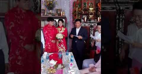Cha chồng gây bất ngờ khi nói Tiếng Việt trong bửa đám hỏi em và Hoon béo 24/6/2018