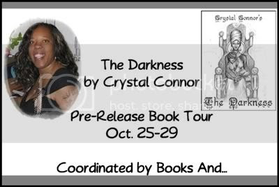 book tour,The Darkness,Crystal Conner