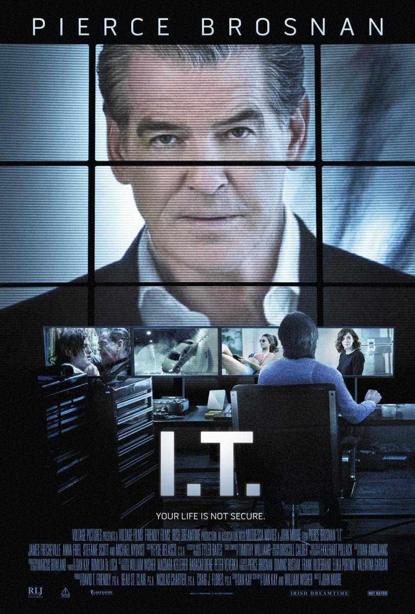 película, I.T., cine, cartelera, pierce Brosnan, Intriga, Thriller, internet, informática, blog de cine, solo yo, blog solo yo, blogger alicante,
