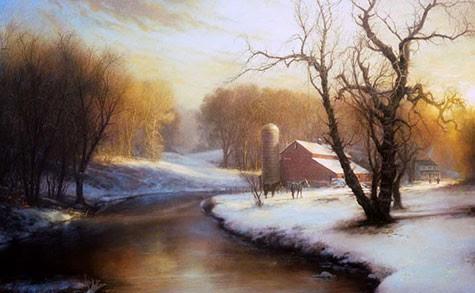 Biblical Artist Greg Olsen's Painting