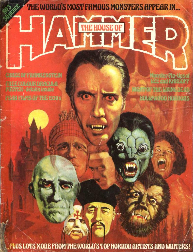 House Of Hammer Magazine - Issue 3 (1977)