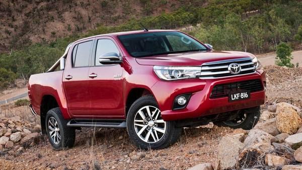 Toyota Hilux, la más vendida en el primer semestre 2016. (TELAM)   Toyota Hilux camioneta mas vendida del primer semestre de 2016