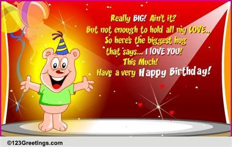 To Wish A Very Happy Birthday! Free Extended Family eCards