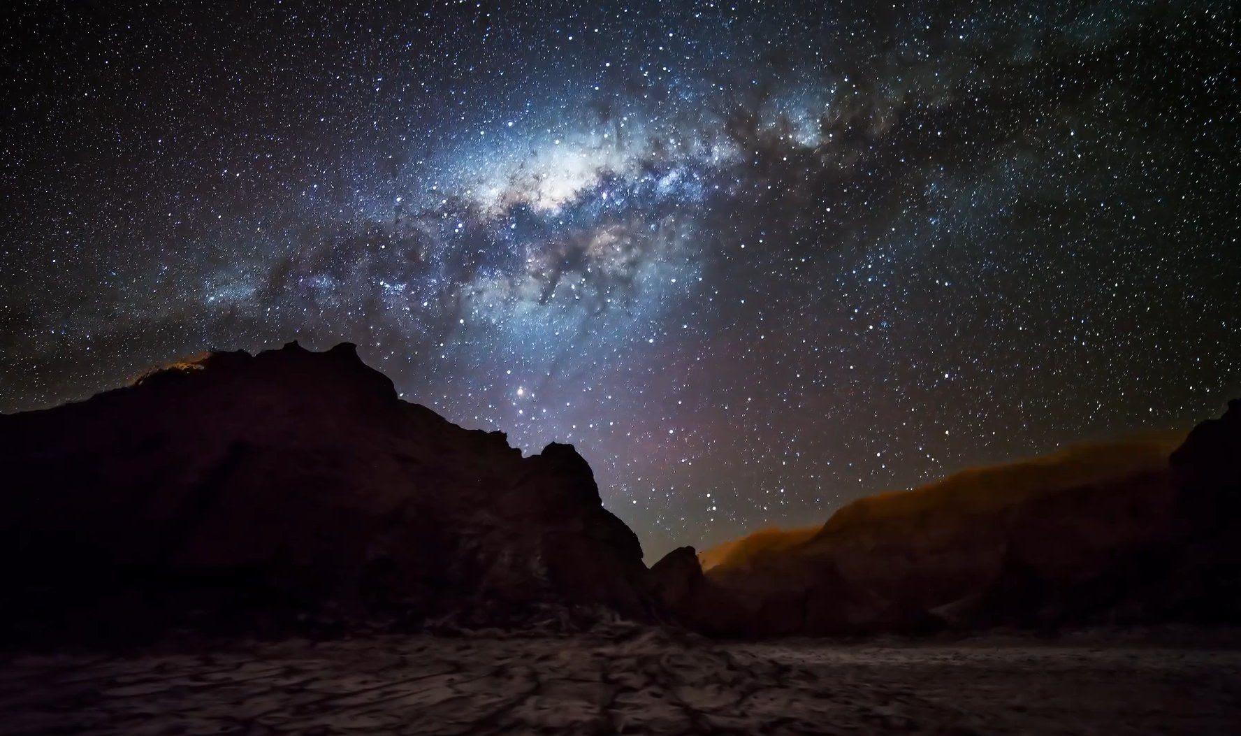 фото ночного неба в сахаре нашей