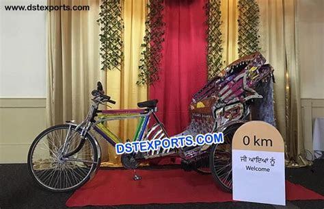 Rickshaw Decoration for bride groom entry idea ? Mandap