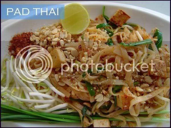Delhi Belle: Vegetarian Pad Thai