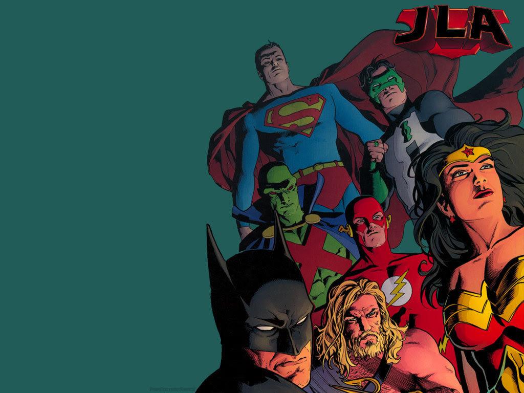 Justice League Dc Comics Wallpaper 3975621 Fanpop