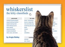 whiskerslist: the kitty classifieds