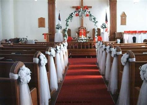 Decorating A Catholic Church For Wedding   Joy Studio