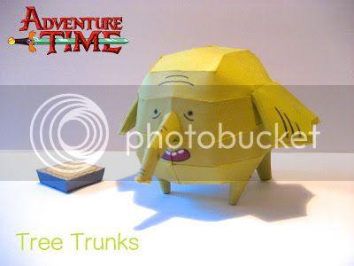 PAPERMAU Adventure Time